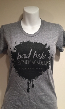 Bad kids womens t